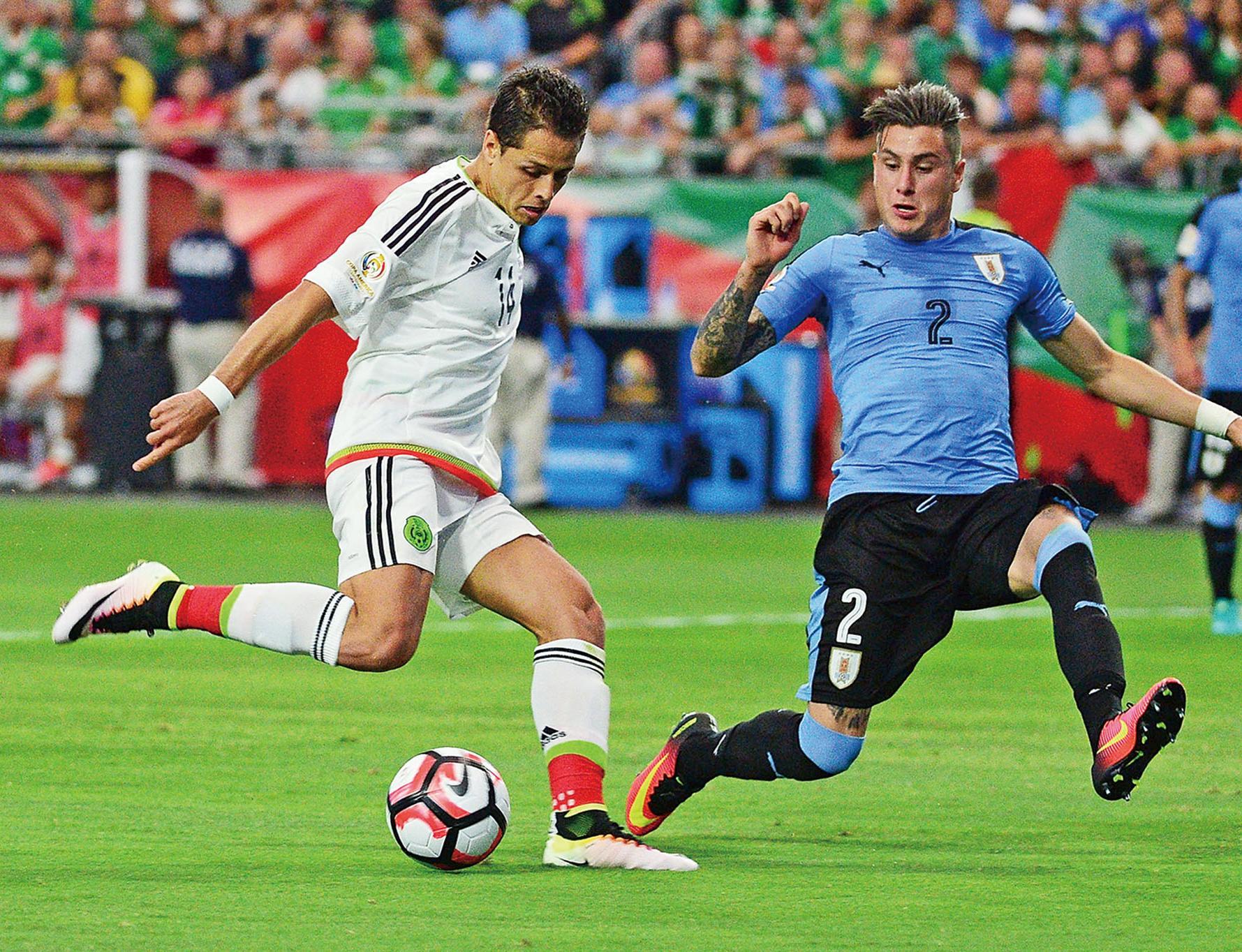 烏拉圭1:3不敵墨西哥