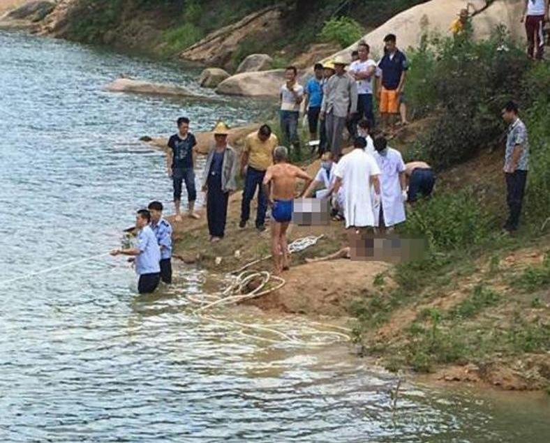 揭陽四畢業生水庫玩水溺亡