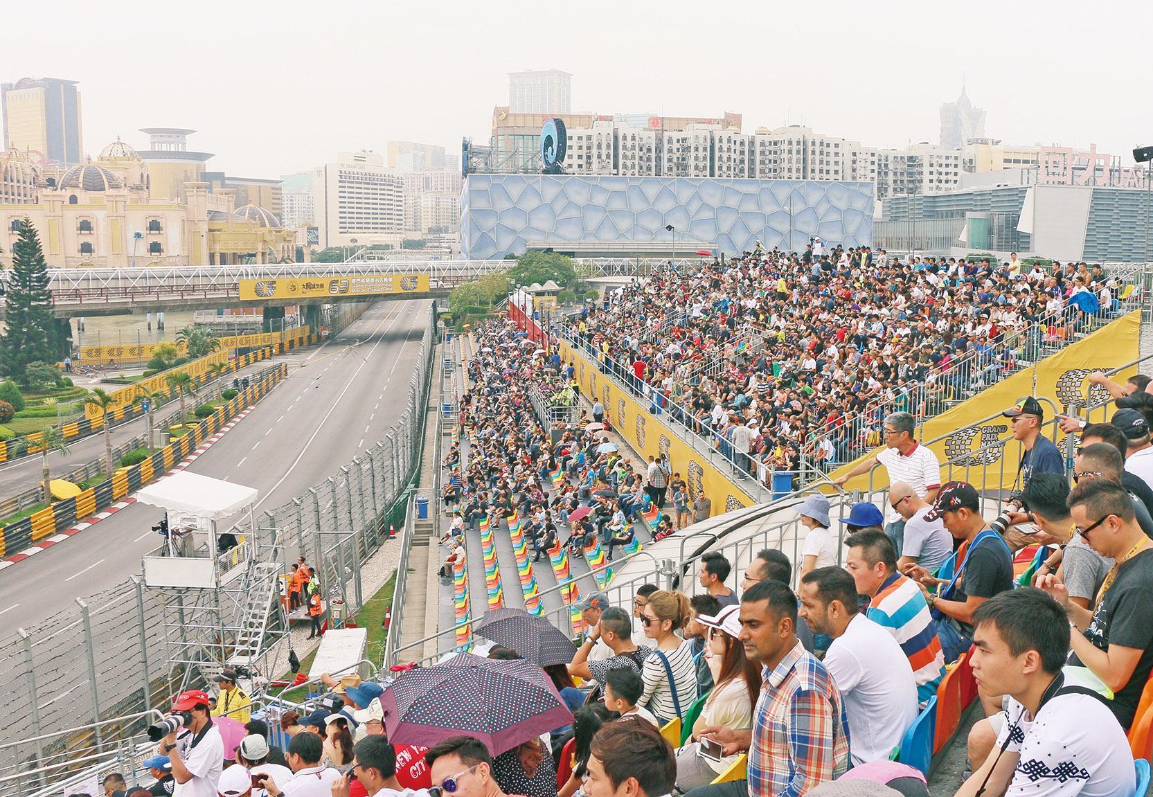 大賽車入場觀眾創新高