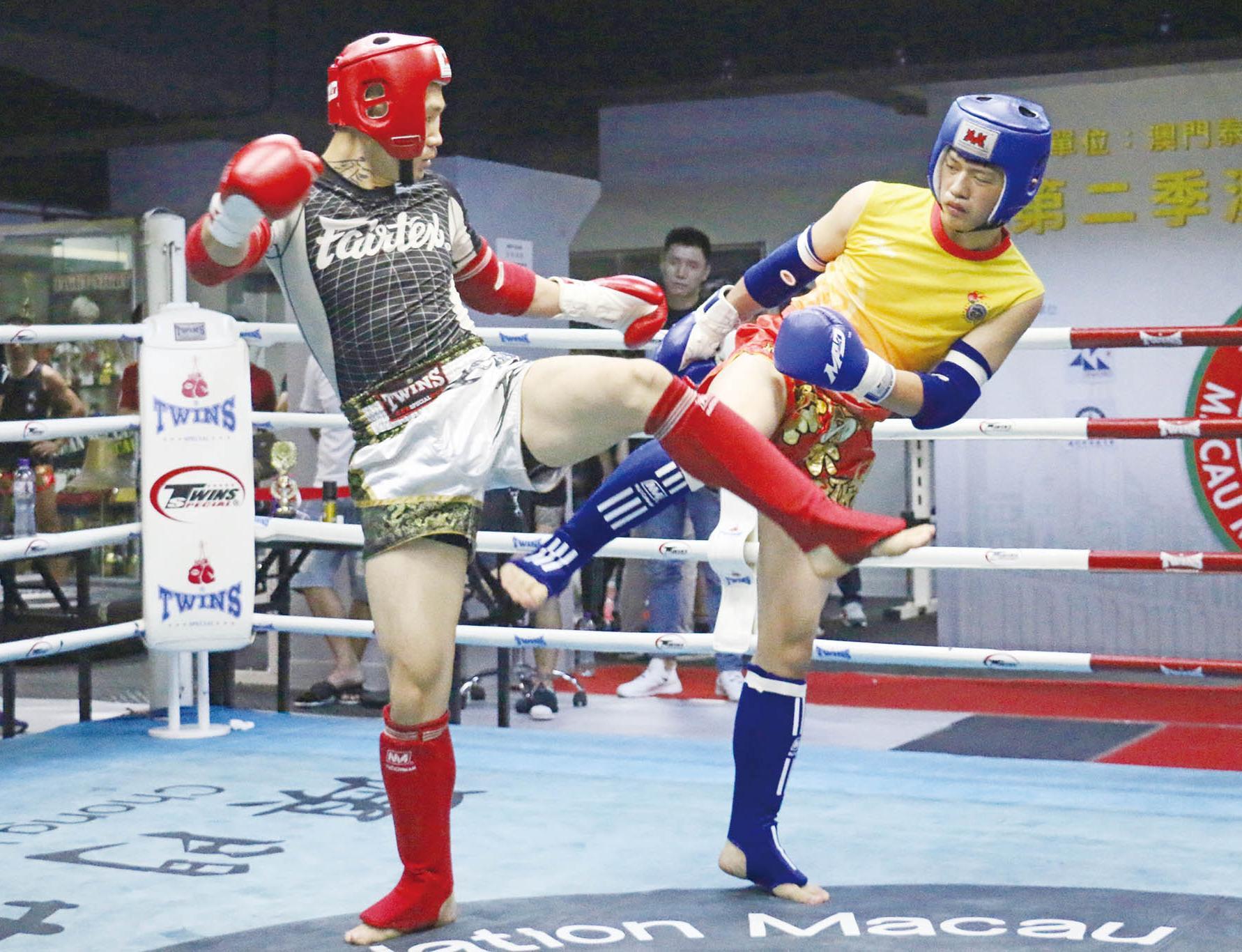 泰拳公開賽颱風吹襲下擺擂台