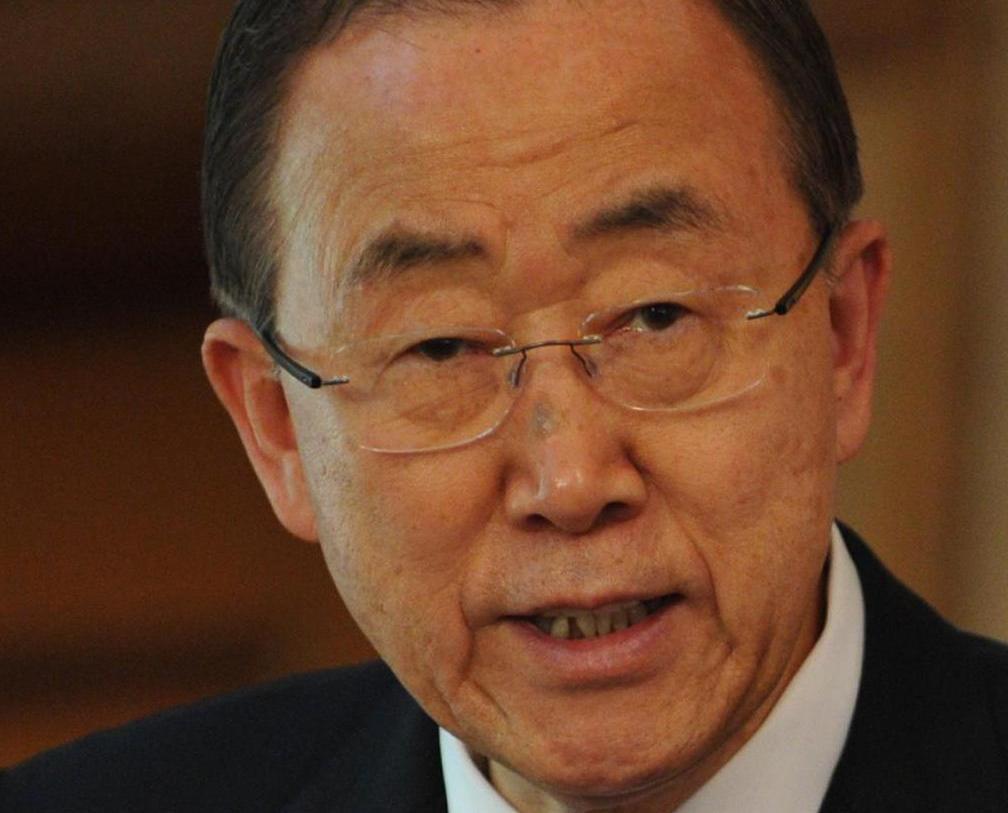 卸任前話別聯合國人員