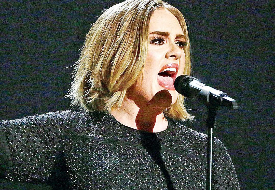 Adele奪五獎成大贏家