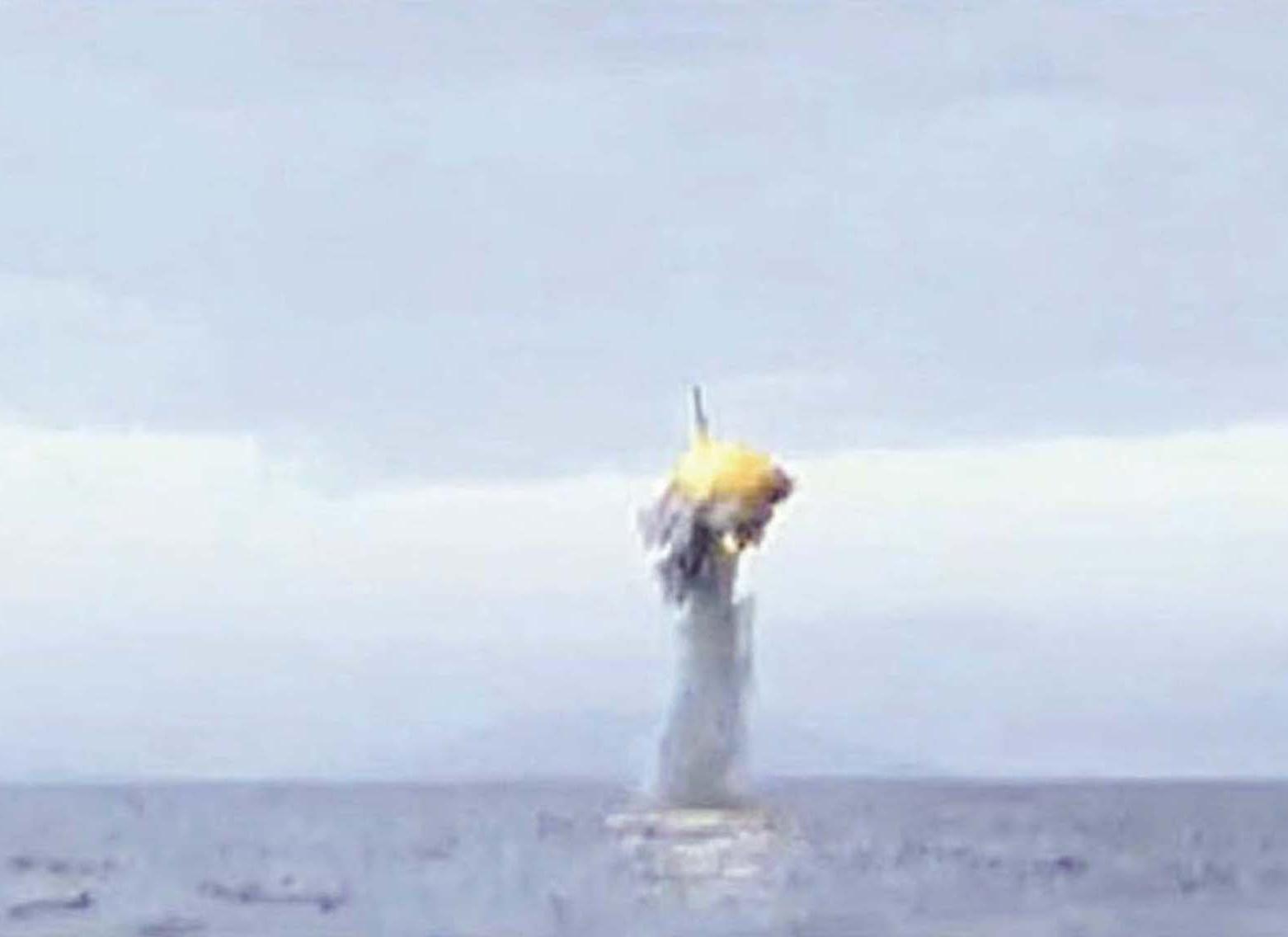 朝鮮試射潛射導彈