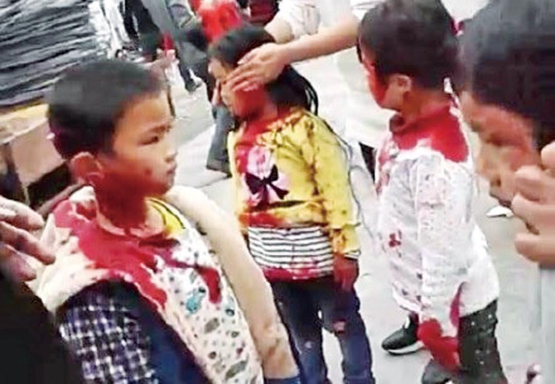 砍傷12名幼童