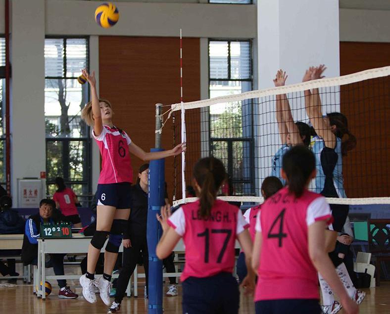 澳門女排出戰U23亞洲錦標賽