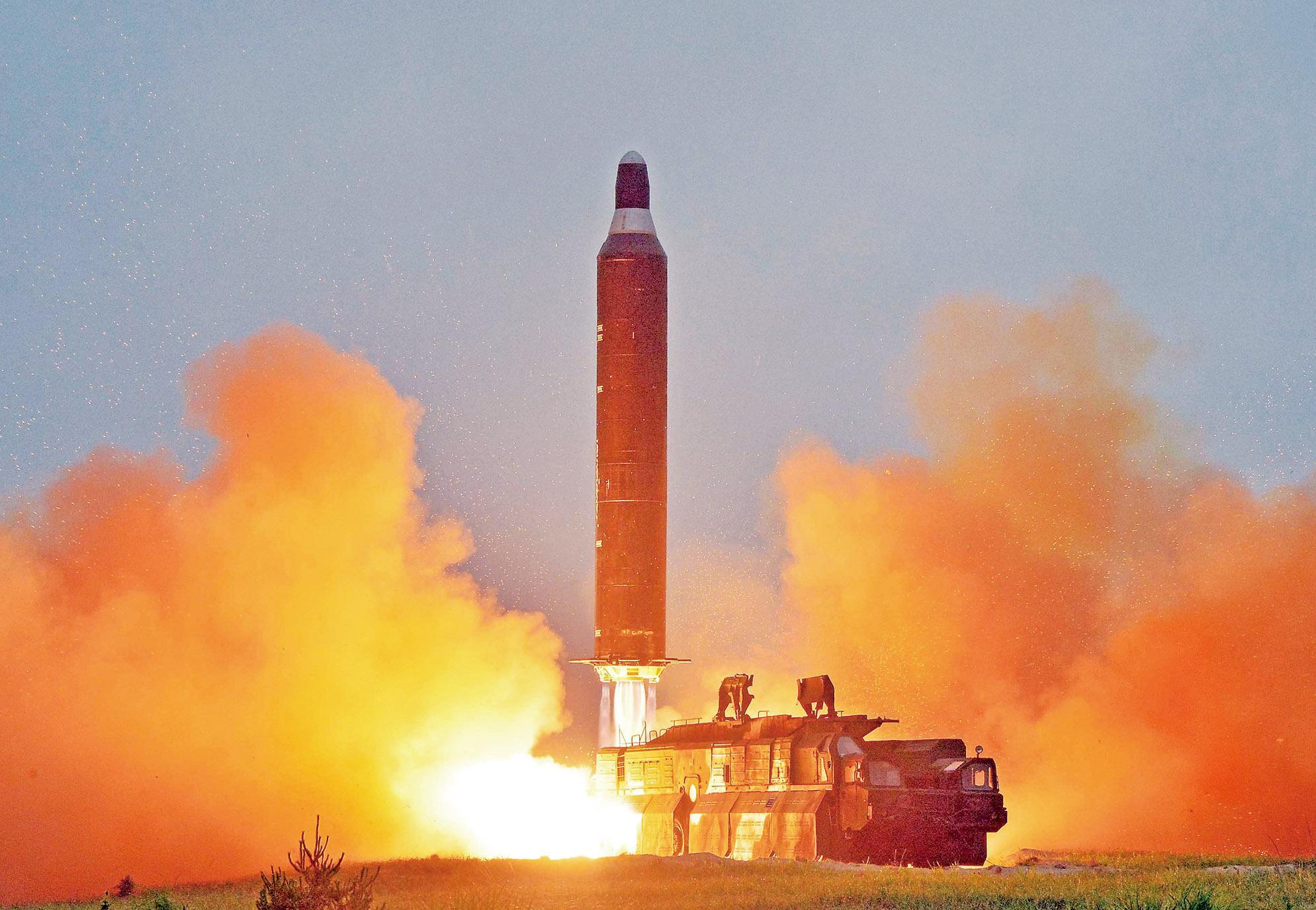 朝鮮再射導彈挑釁