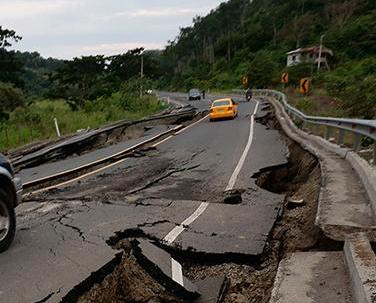 厄瓜多爾接連發生六級地震