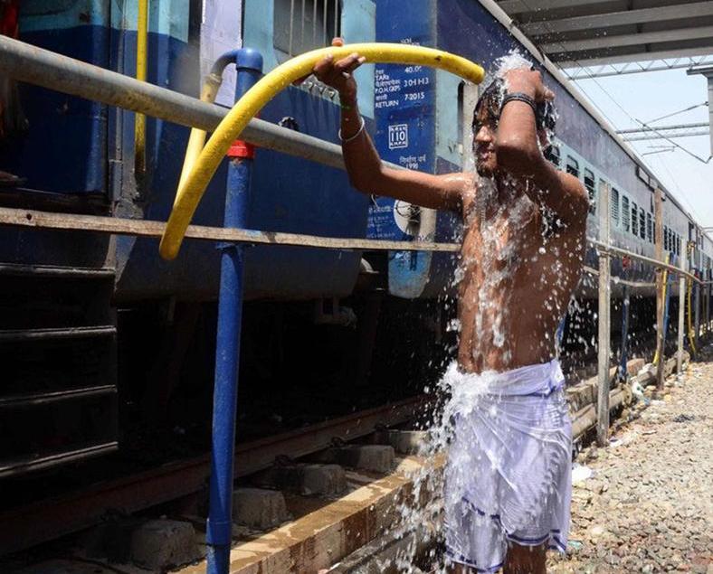 印度多達167人中暑熱死