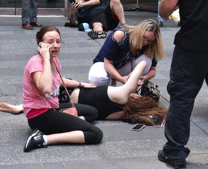 紐約時代廣場恐怖車禍1死22傷