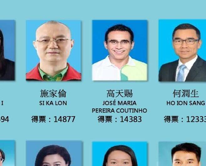 選管會公布14名直選當選人