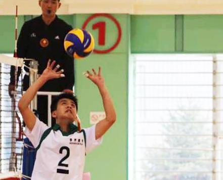 澳門學界男排零封湖南晉級次輪