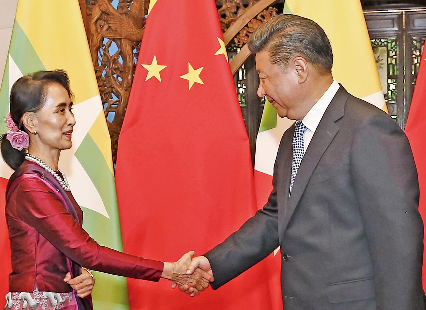 中方支持緬甸民族和解