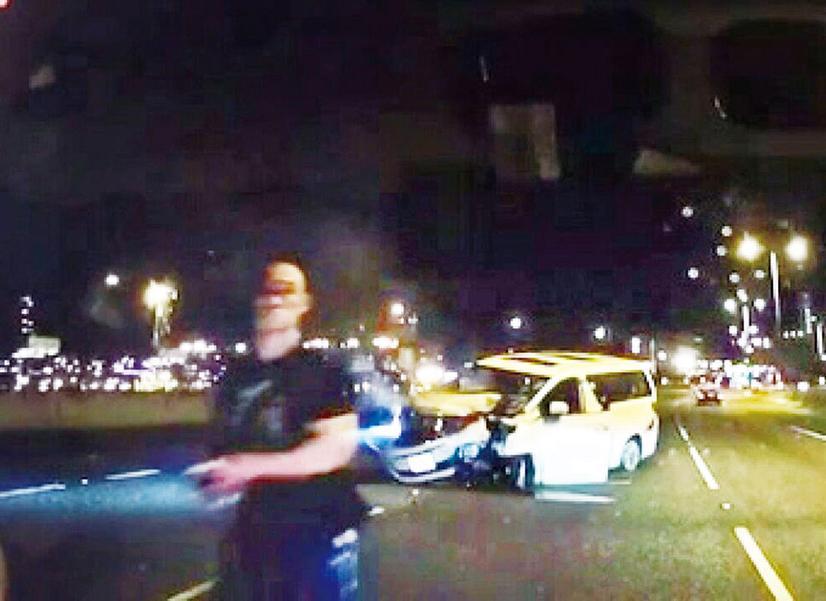 司機自稱黑幫攔車逃逸