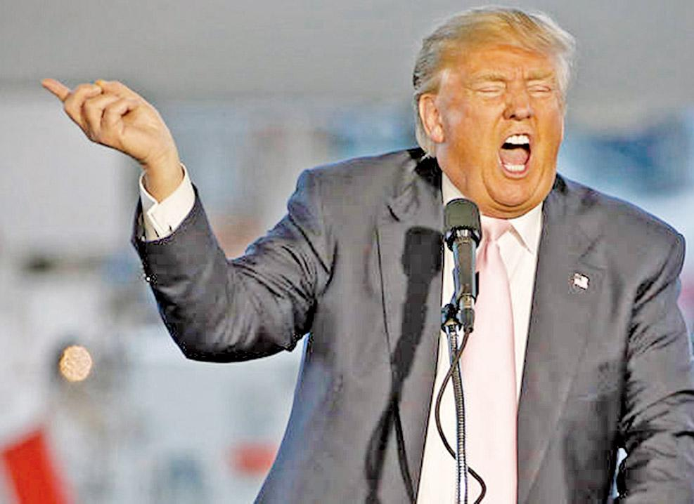 美媒圍剿特朗普