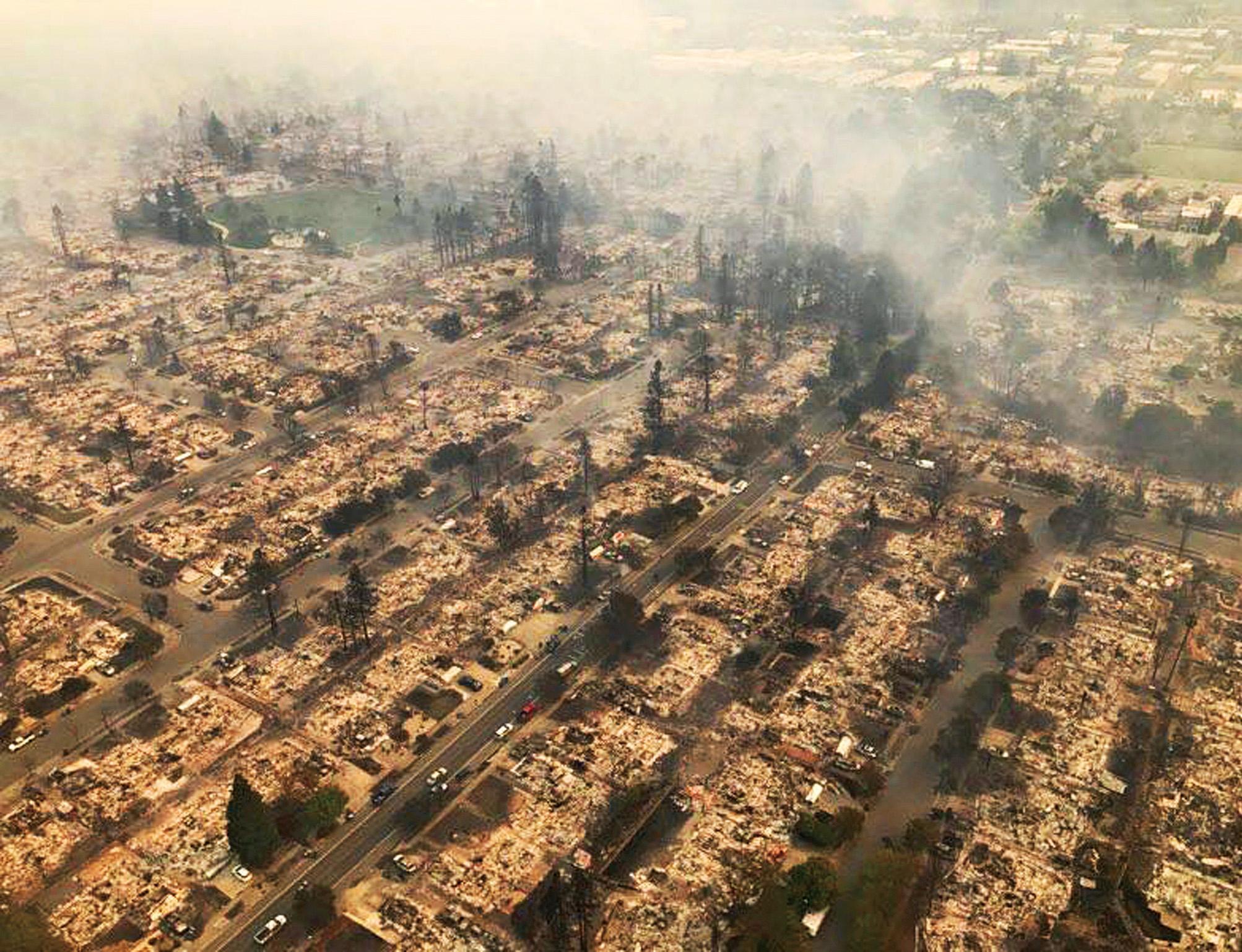 加州山火仍未受控