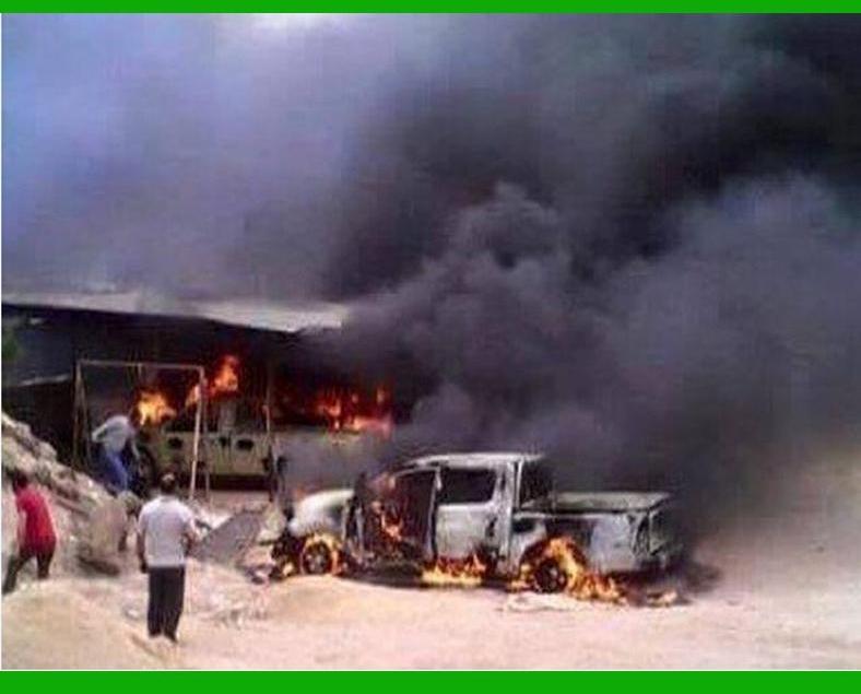 利比亞首都軍火庫爆炸29死