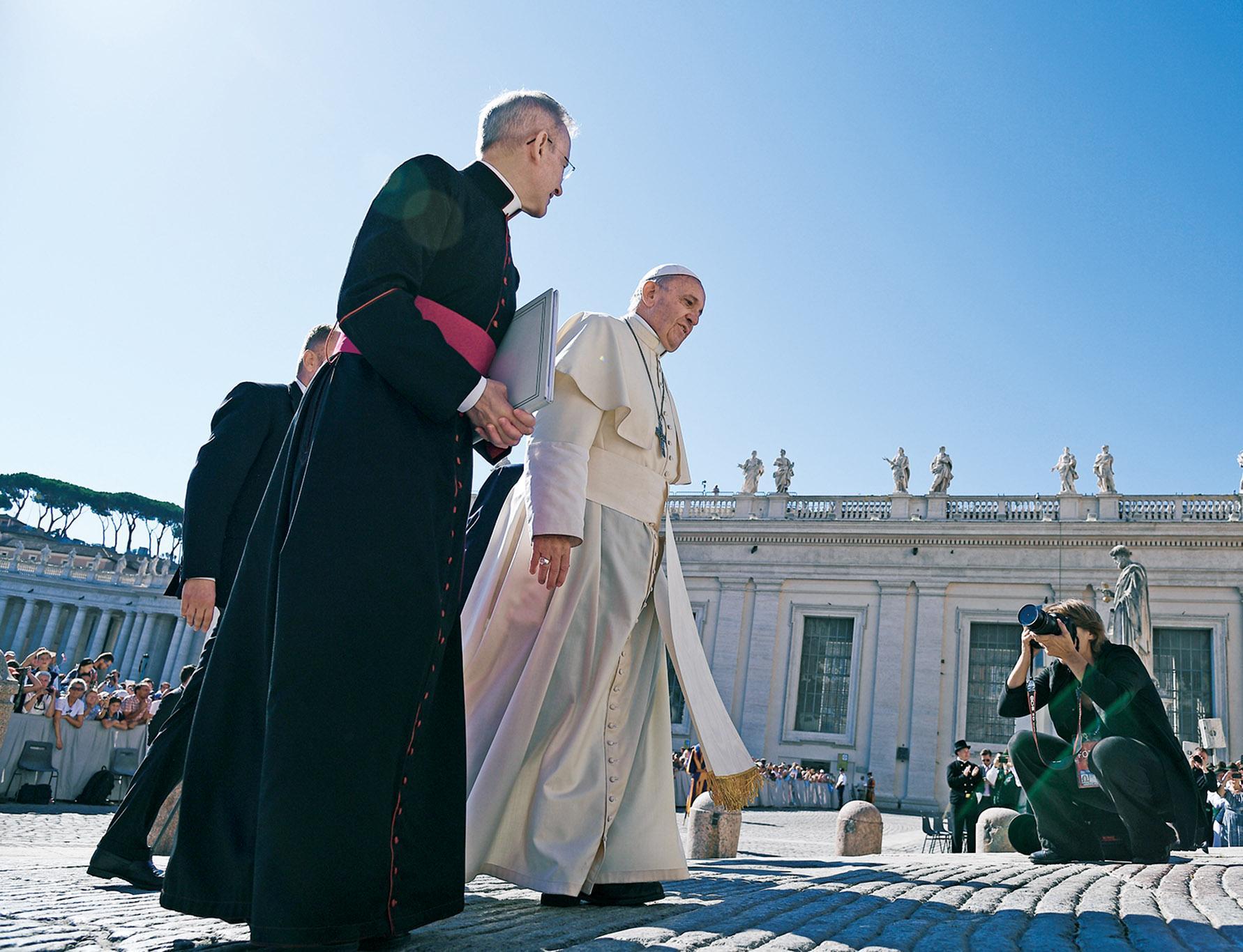 梵蒂岡:盼改善與華關係