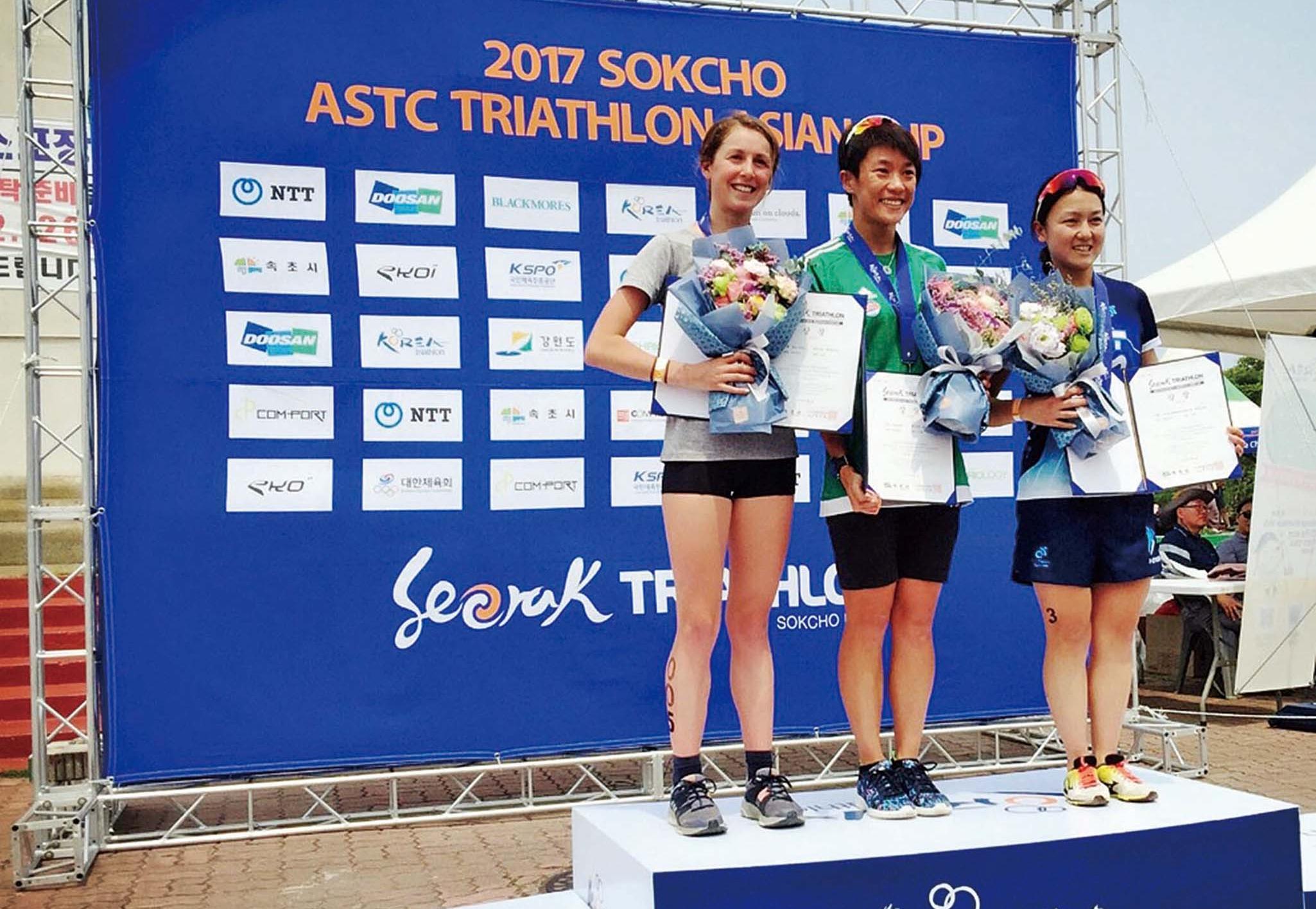 許朗亞洲盃韓國站奪冠