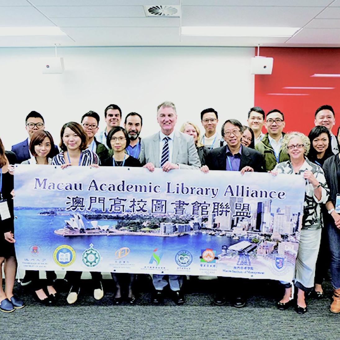 高校圖書館聯盟訪澳洲