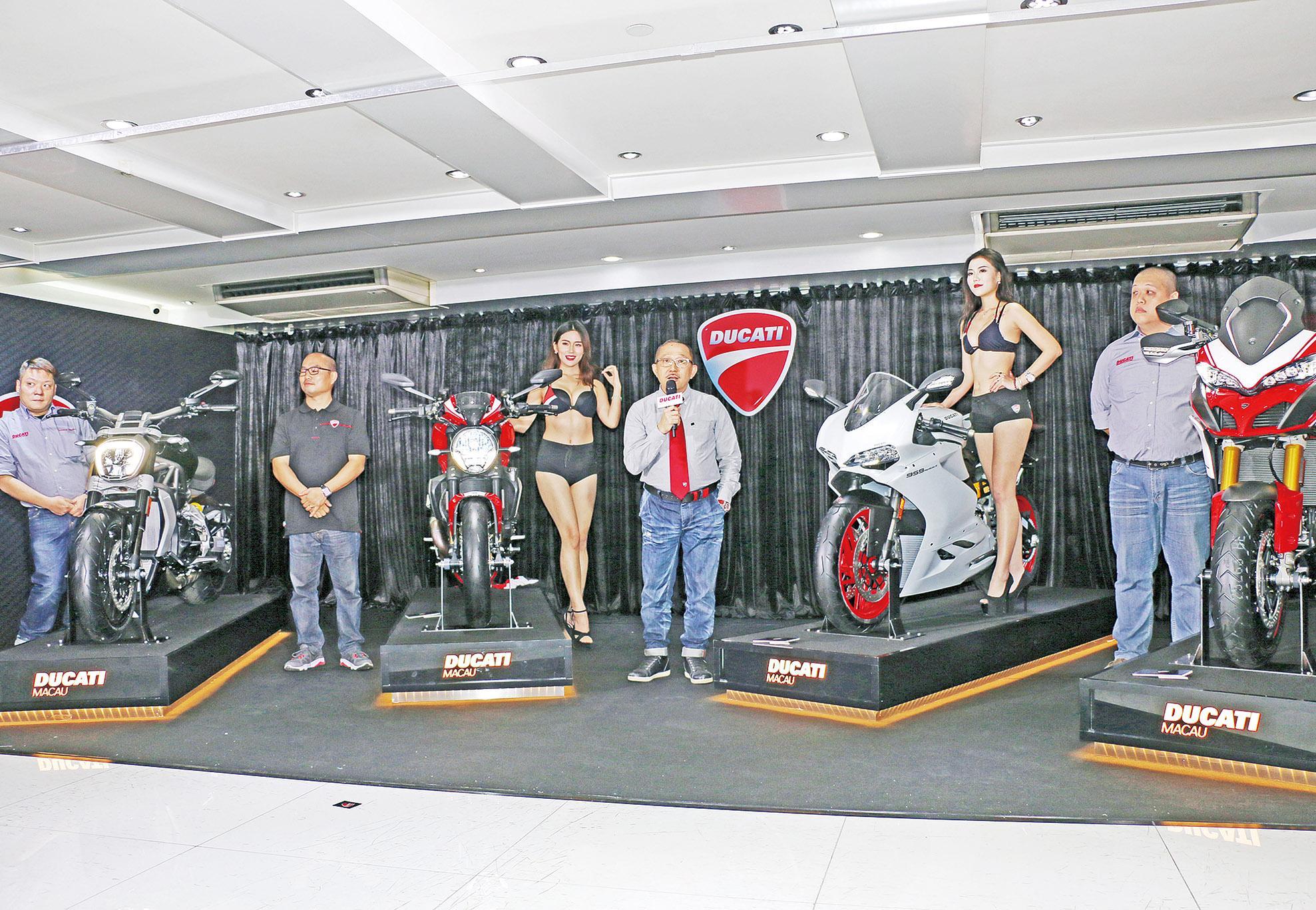 杜卡迪發布五款鐵騎