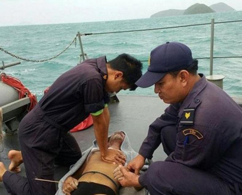 船長死亡三人失蹤