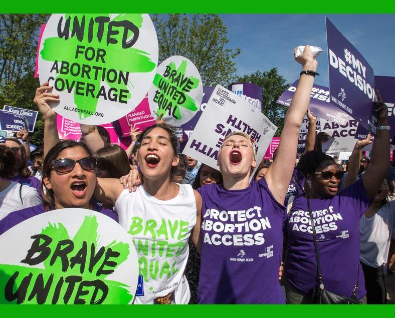 美最高法院推翻得州墮胎法例