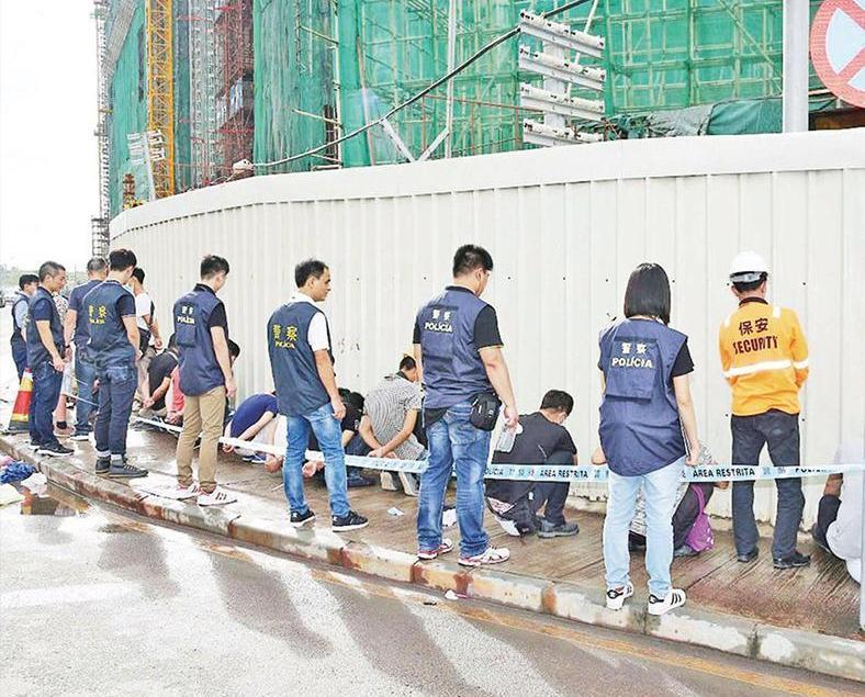 政府二月共查獲47名非法勞工