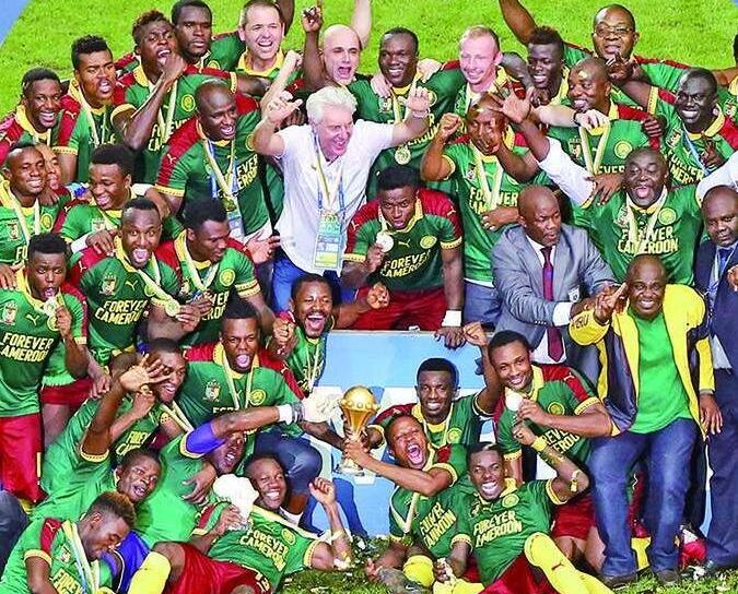 喀麥隆五登非國盃王座