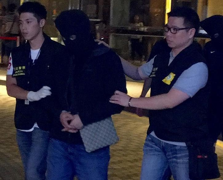 兩港男來澳販毒被捕