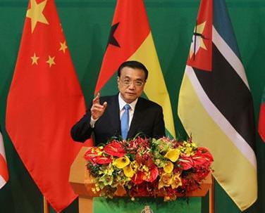 大力推進中葡經貿合作發展