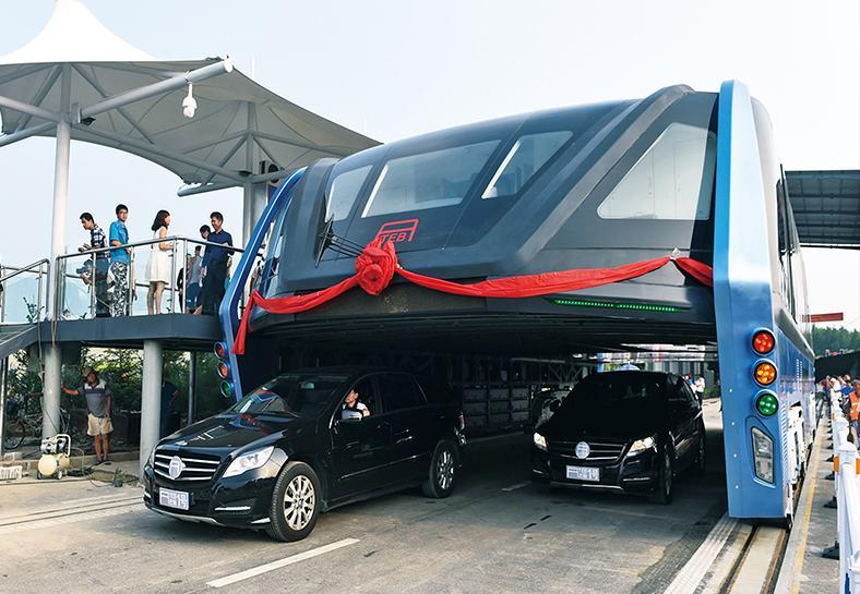 中國「空巴」試車