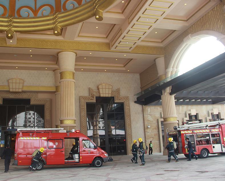 勵宮酒店火警疏散演習