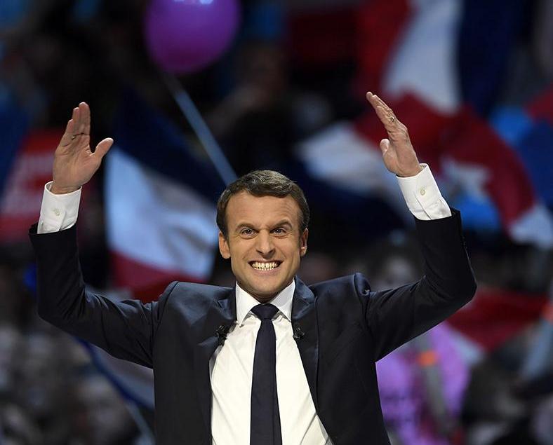 馬克宏當選法國總統