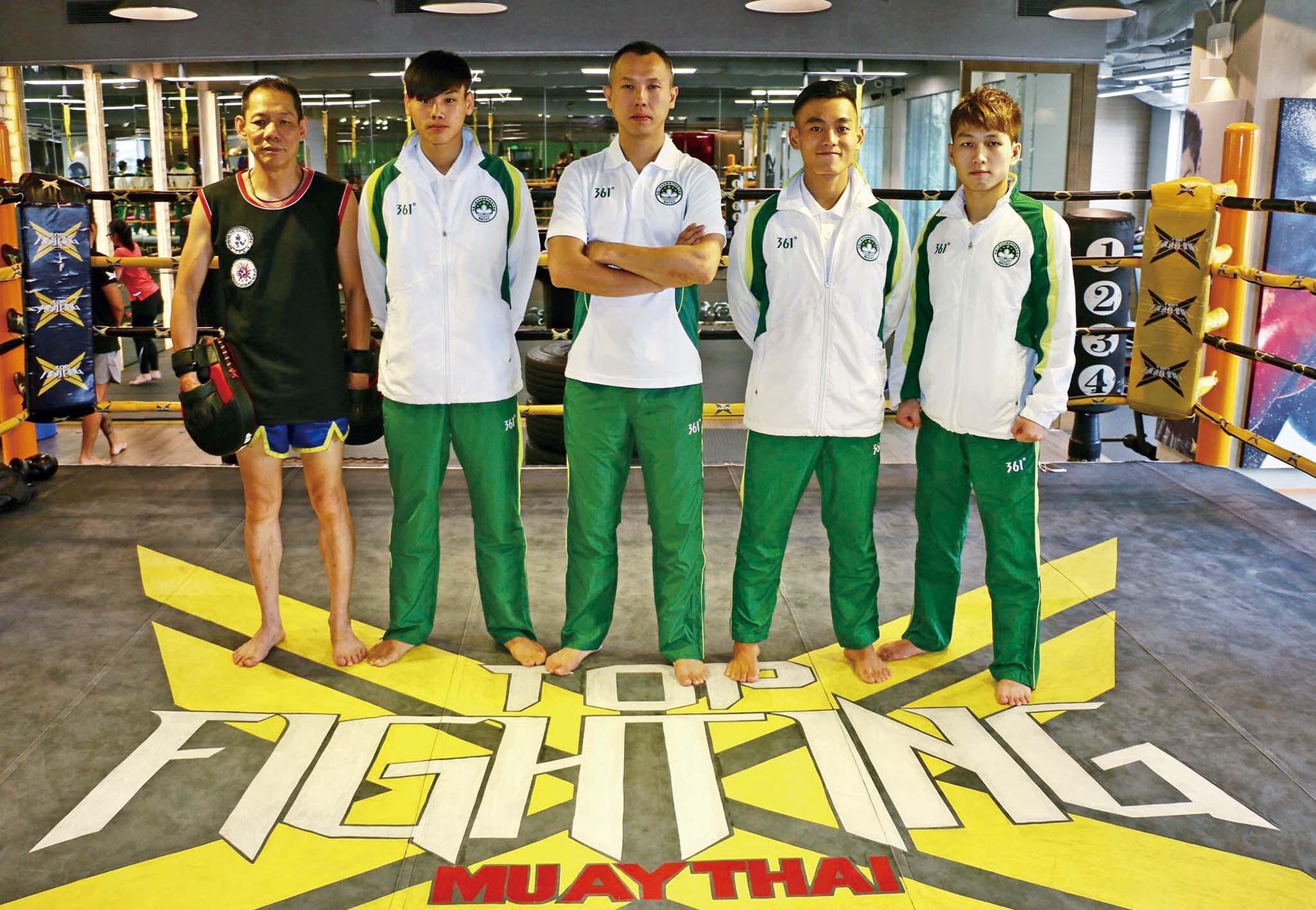 泰拳三傑強戰東亞賽