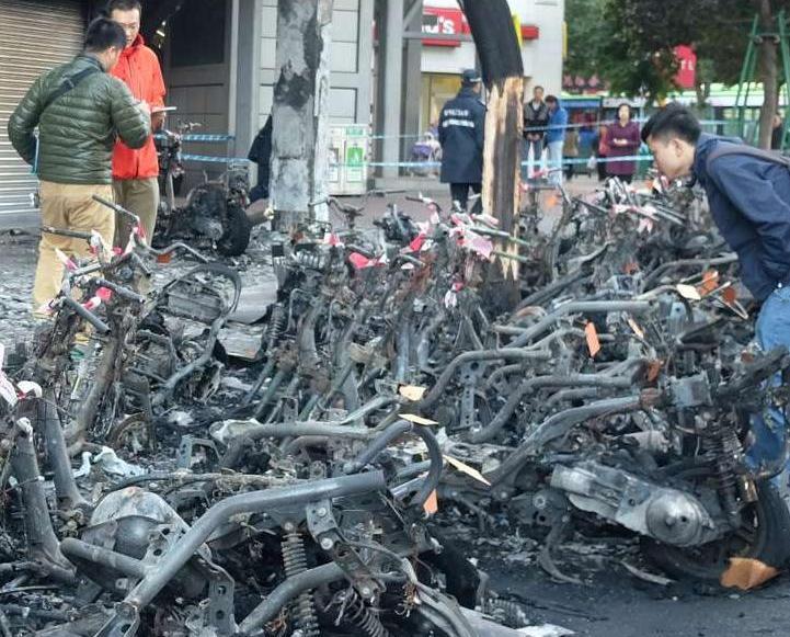 司警:電單車火警非人為縱火