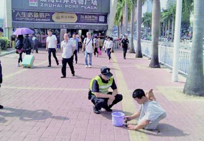 珠海職業乞丐年收30萬