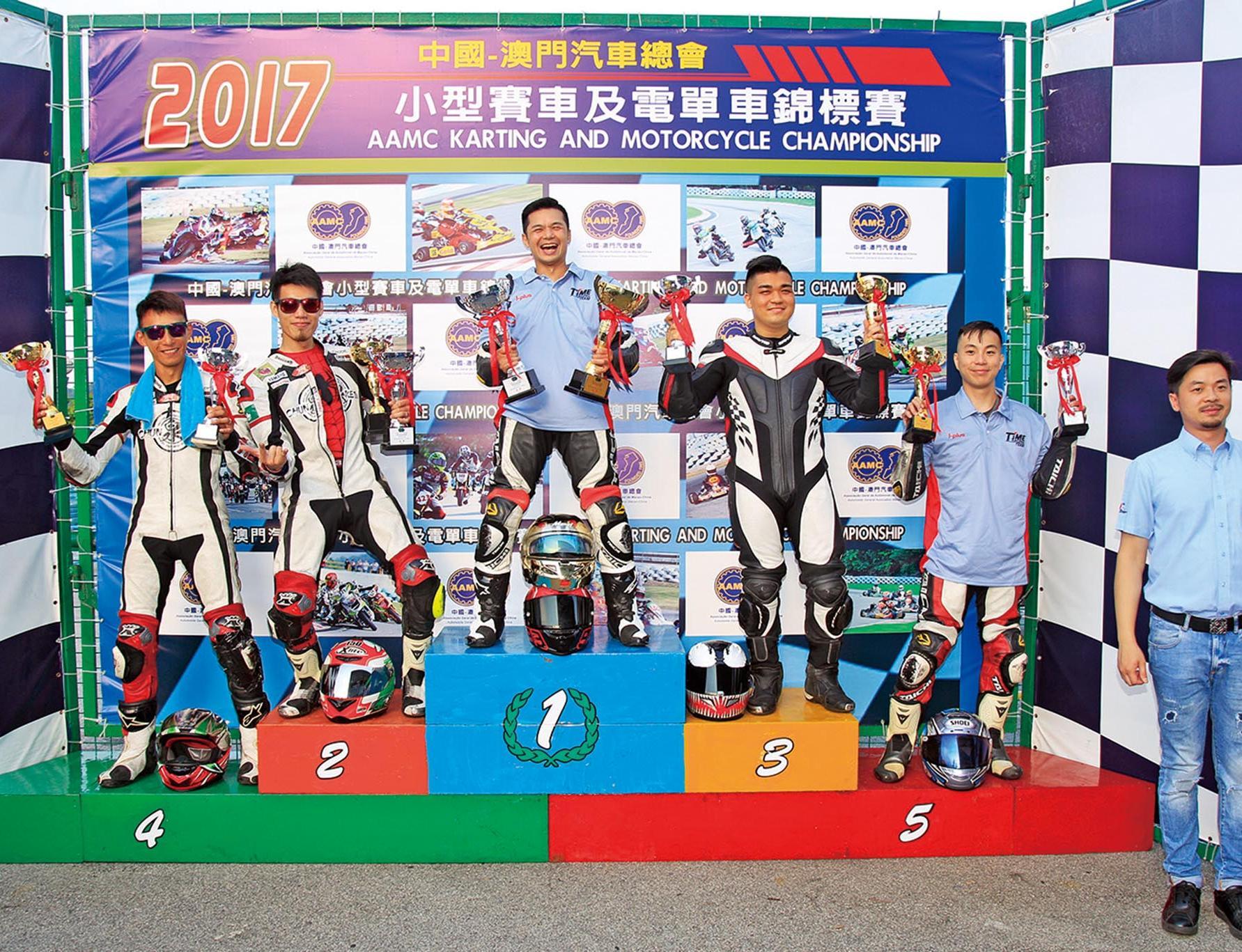 小型賽車及電單車賽誕冠軍
