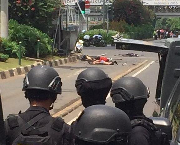 IS承認策動印尼連環爆炸襲擊