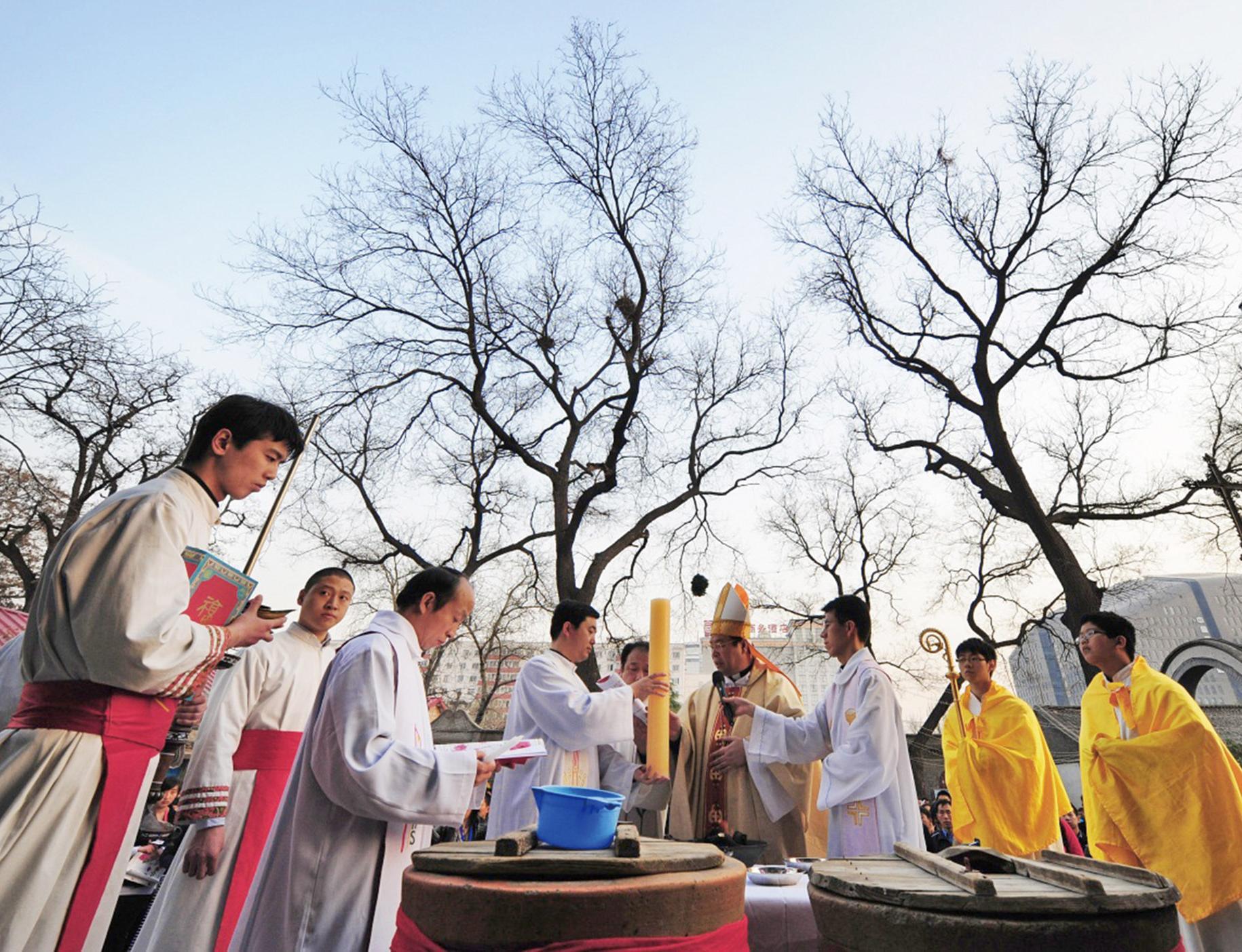 梵蒂岡譴責地下教會