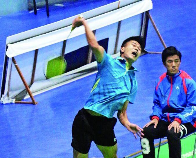 裴鵬鋒澳門羽壇最年輕冠軍
