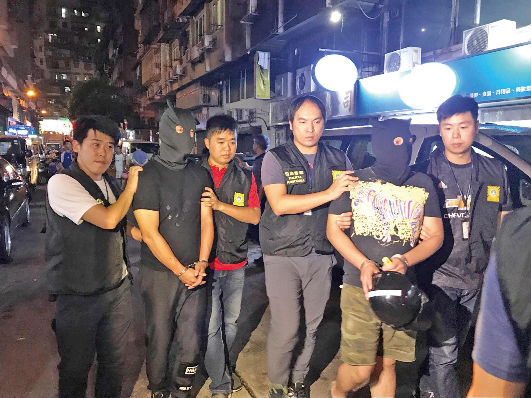 司警迅速破案拘兩本地漢
