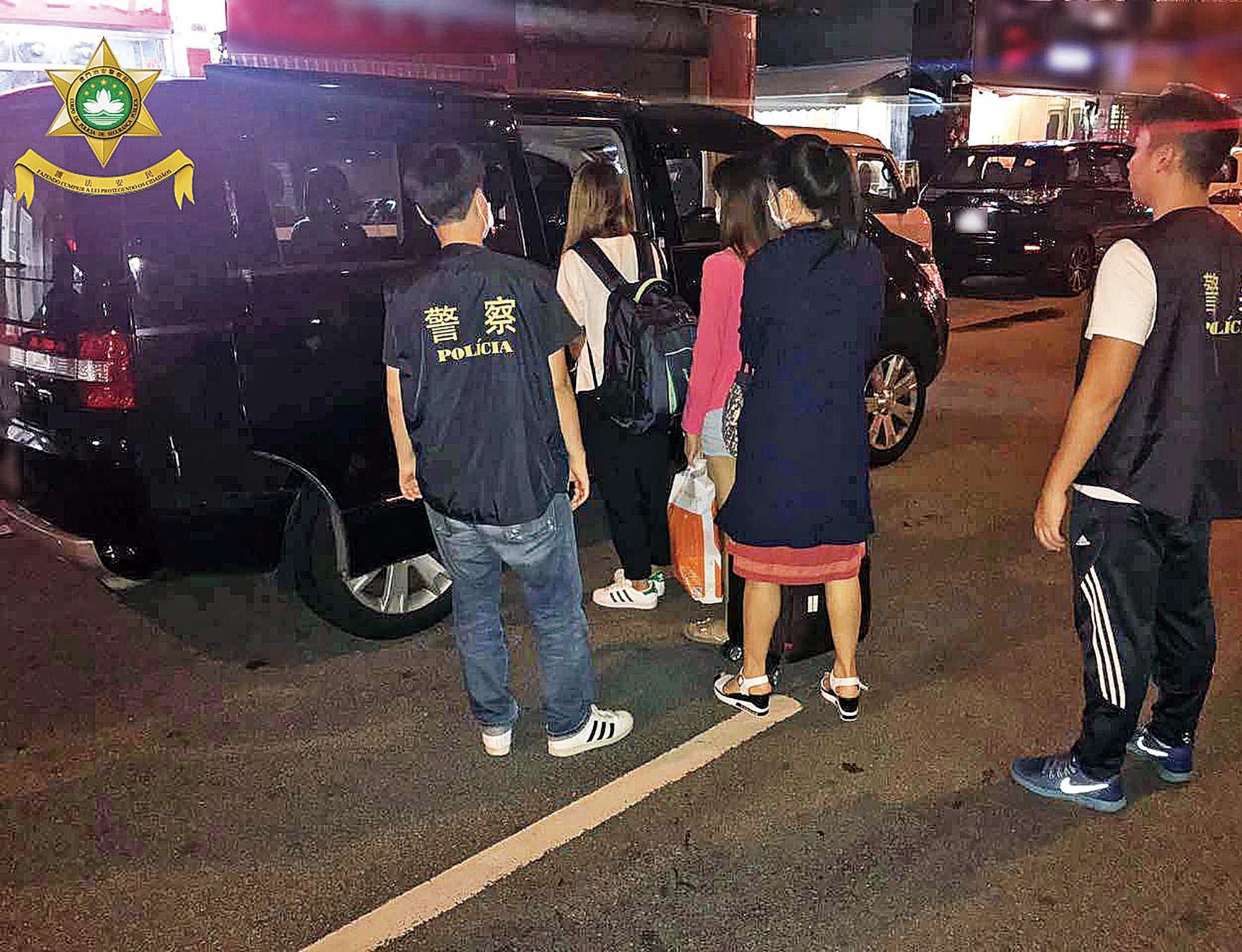 治安警破賣淫集團拘五人