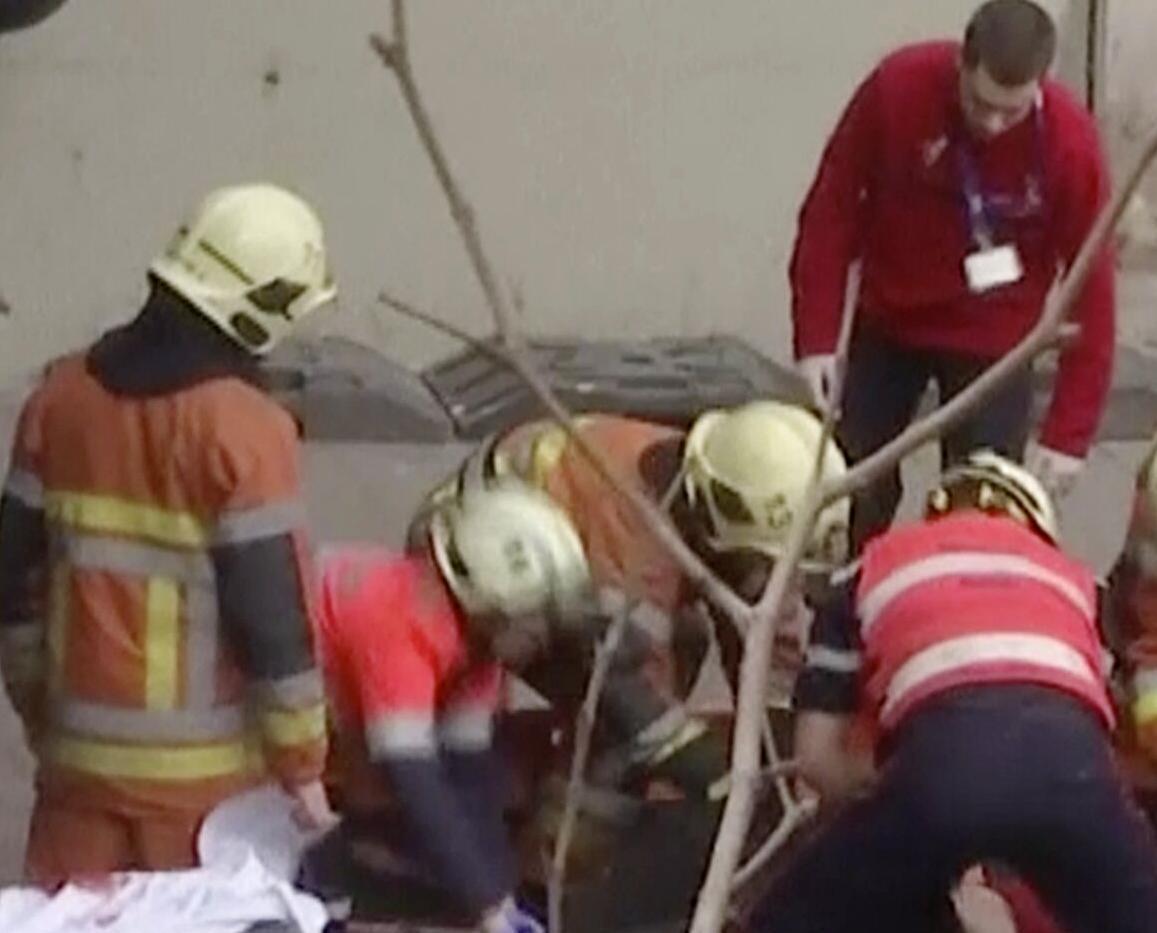 警方懷疑是自殺炸彈客犯案