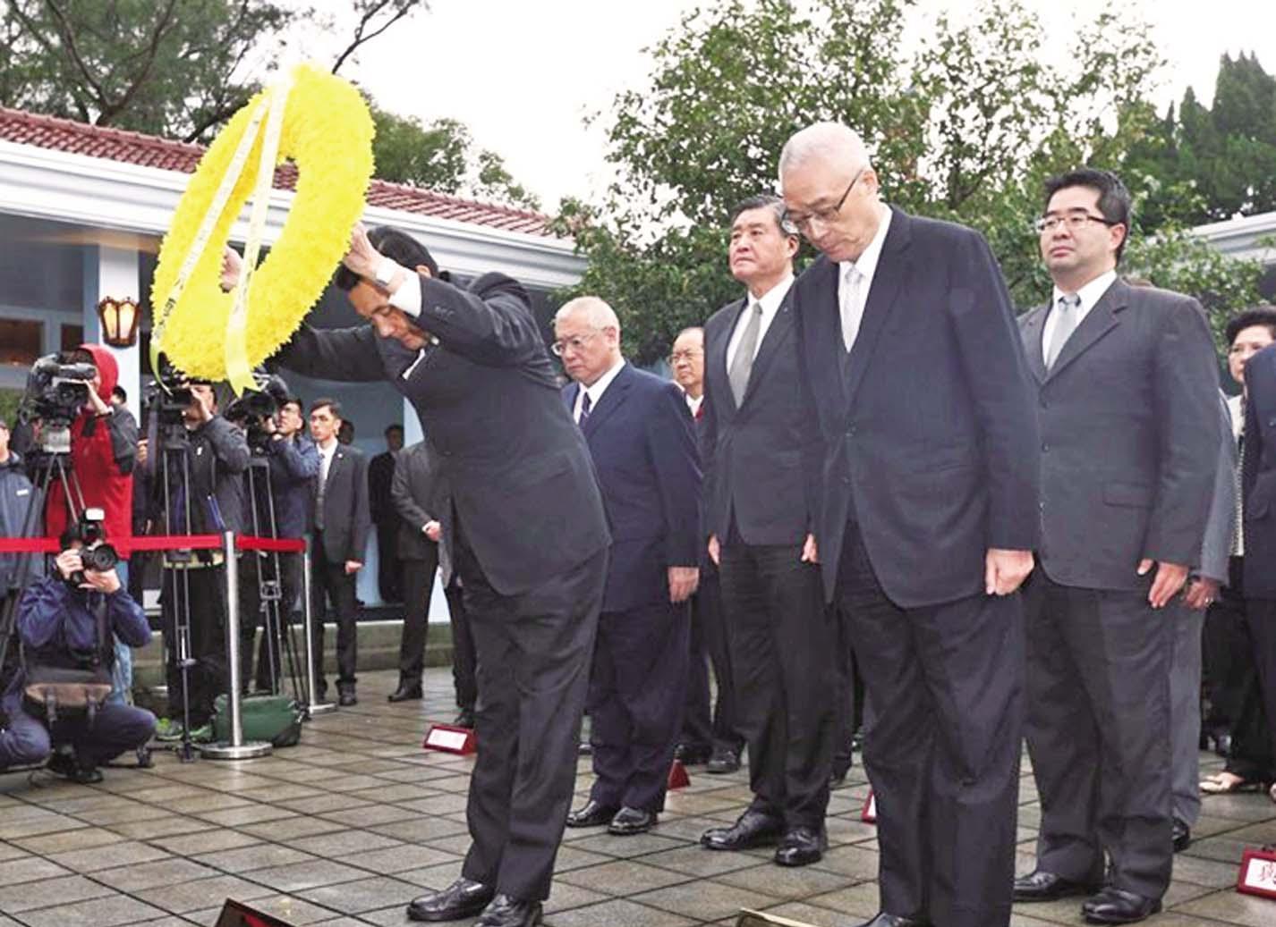 蔣經國逝世28周年