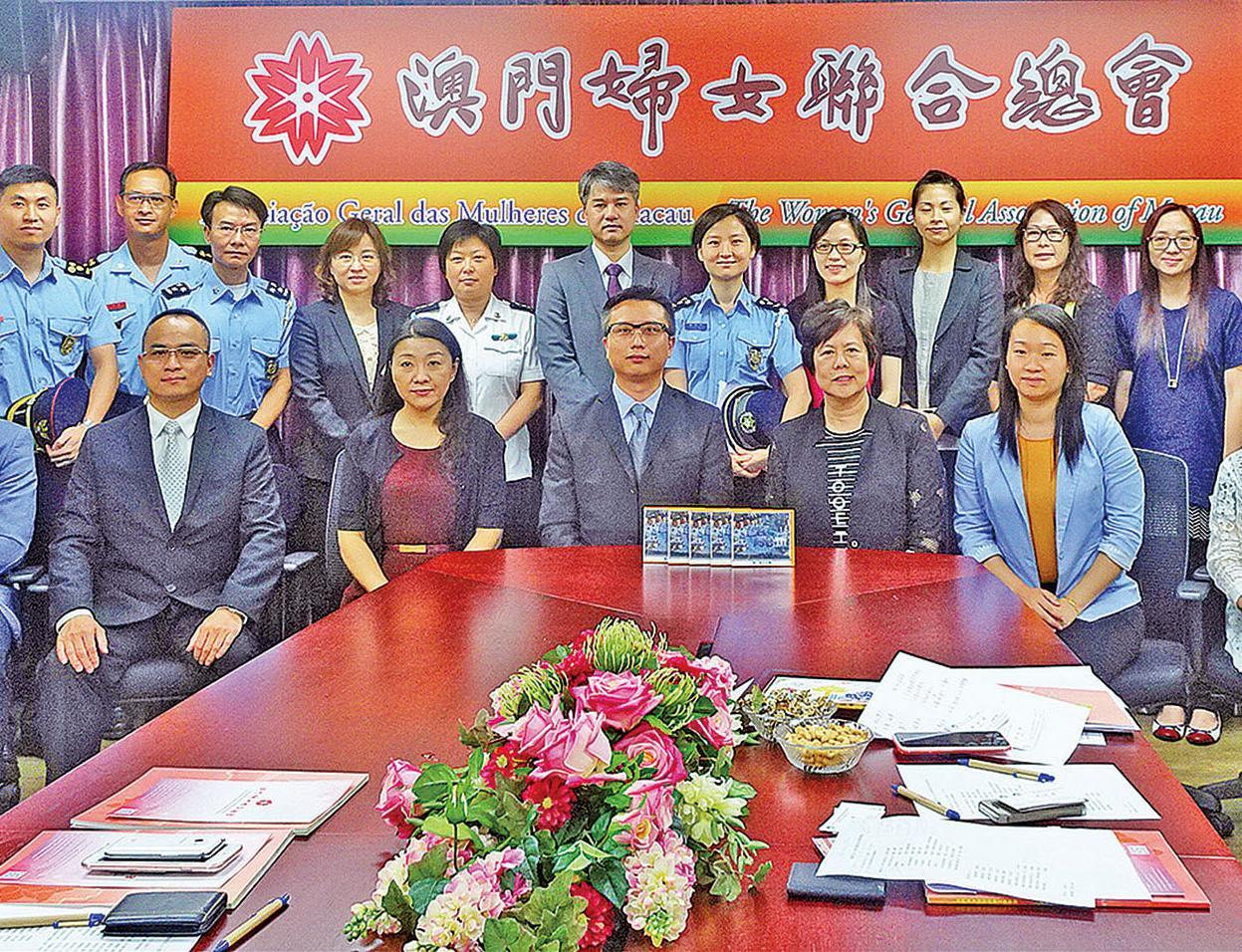 婦聯:警民合作確保社會穩定