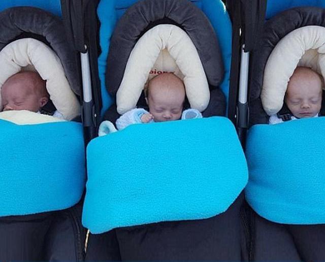英三胞胎睡夢中兩死