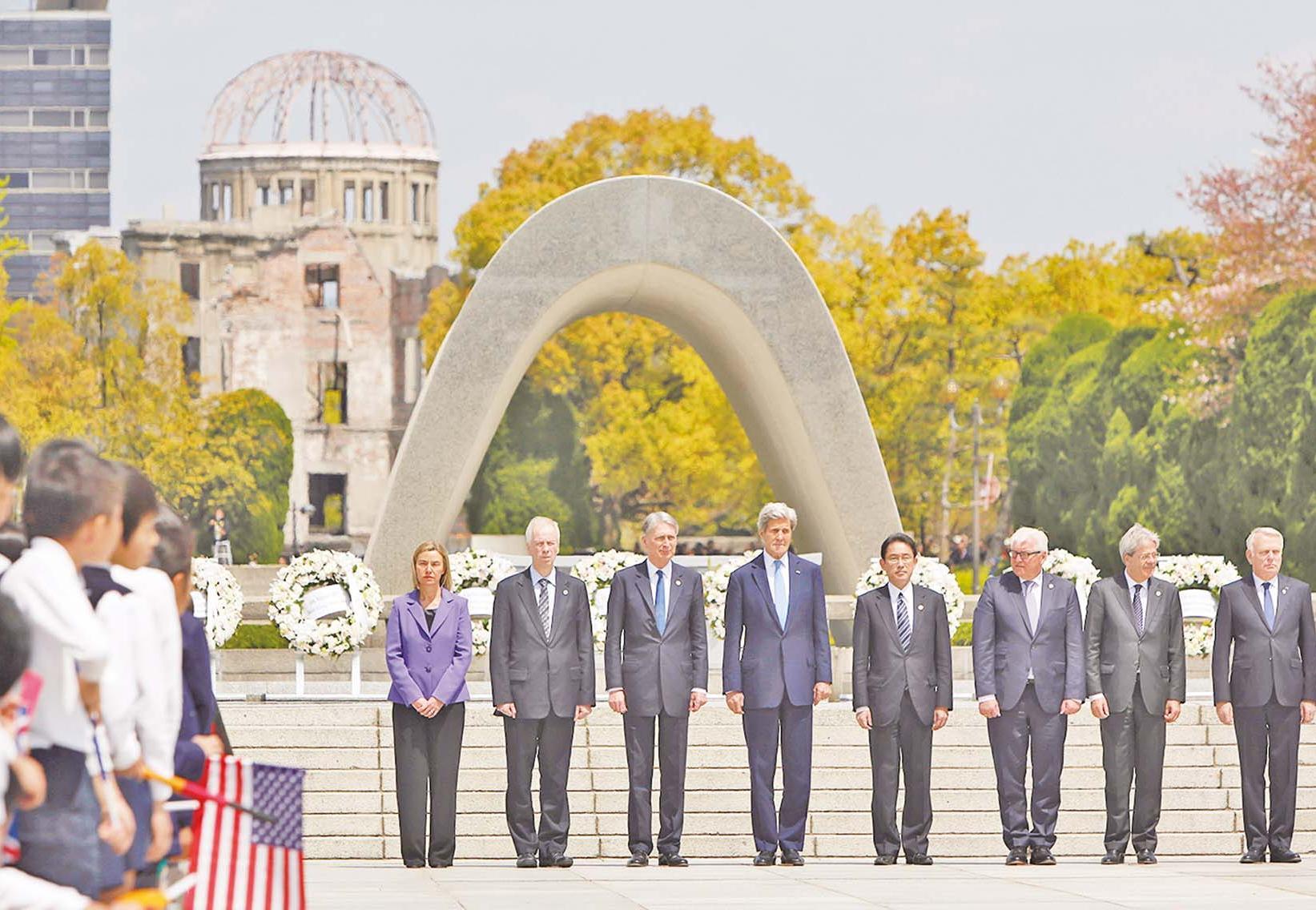 籲共建沒有核武的世界