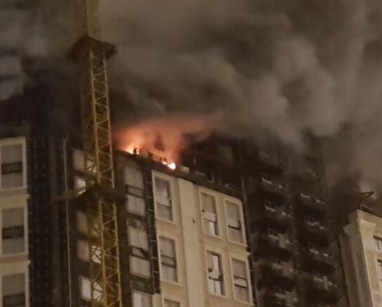上葡京地盤發生火警