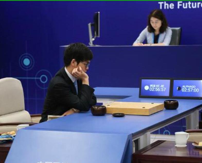 柯潔中盤向AlphaGo認輸