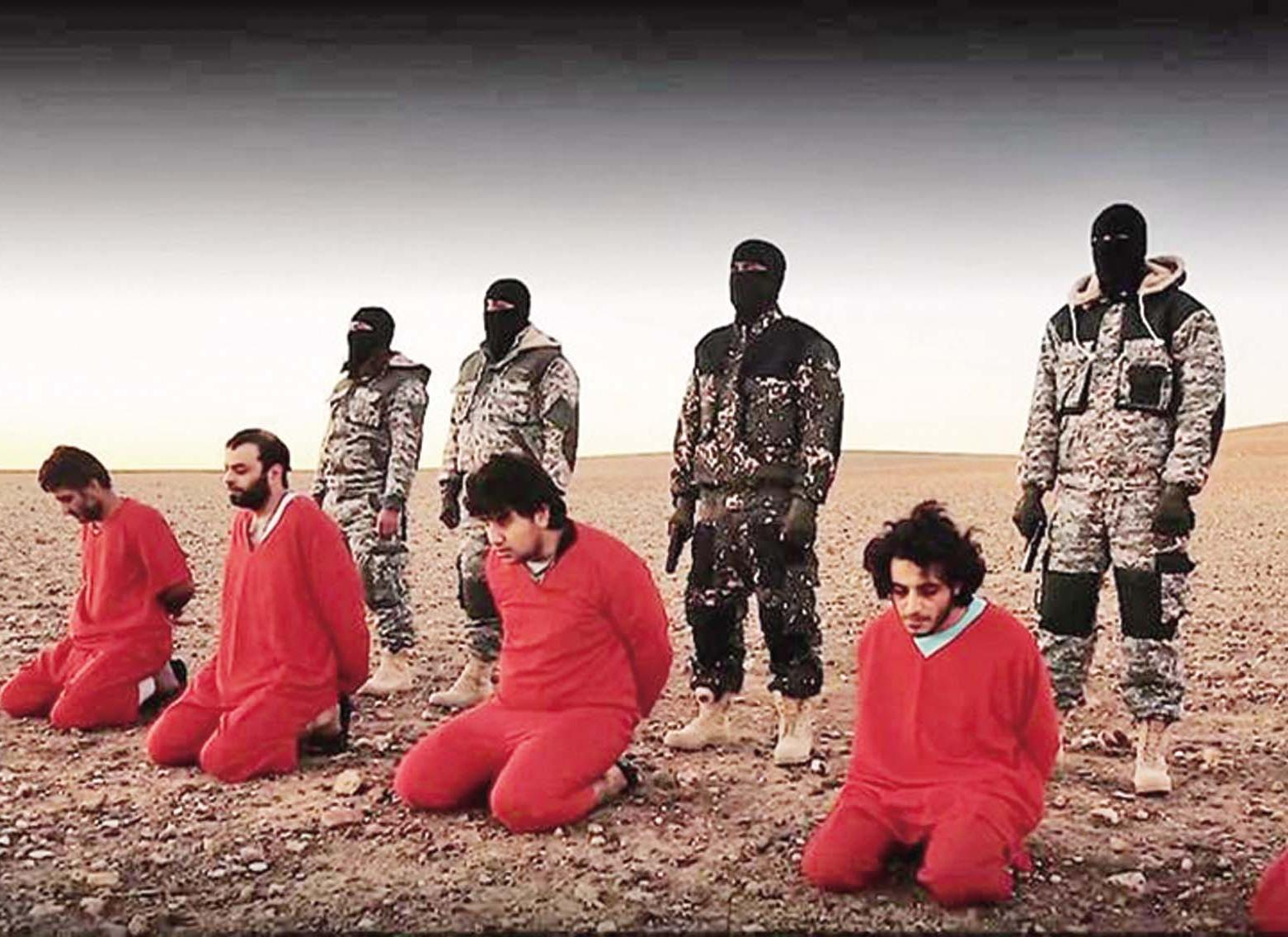 IS宣稱處決五英間諜
